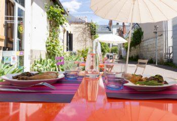 Déjeuner en Terrasse – Tours A Table Ⓒ GaelleBc